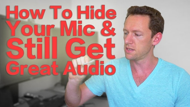 How to Hide Your Lapel Microphone And Still Get Great Audio - Microphone