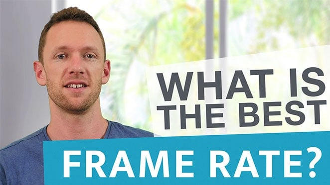 Best Frame Rate for Your Videos - Background noise