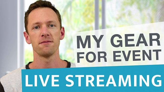 Livestreaming Gear: My Basic Setup for Events - SET UP FOR EVENT