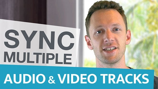 How to Sync Video and Audio: Multiple Cameras and Tracks - Public Relations