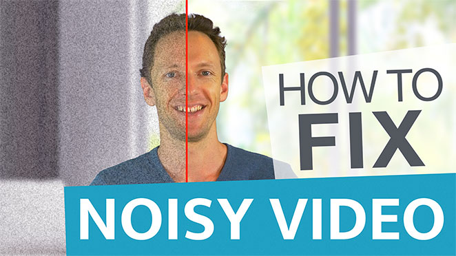 How To Fix Video Noise: Remove Grain With This NEAT Plugin! - Film grain