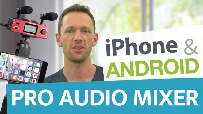 Professional Audio for Smartphones: Saramonic SmartMixer (iPhone & Android!) - Public Relations
