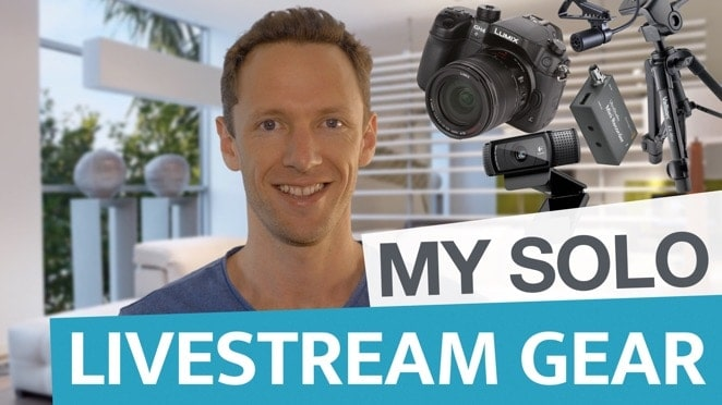 My Livestream Gear (Solo Setup) - Panasonic Lumix DMC-GH4