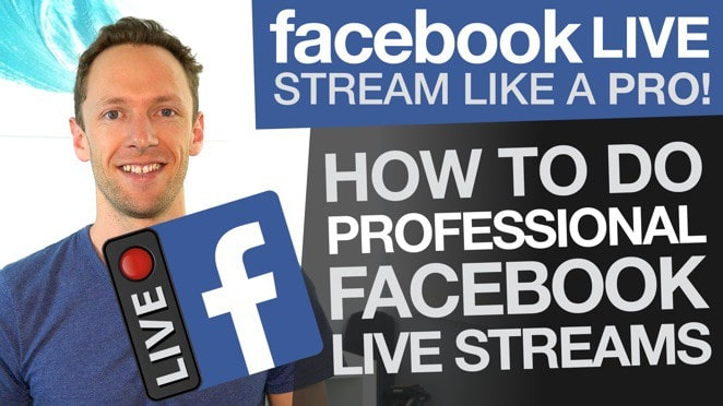 Facebook Live Stream like a Pro: How To Do Professional Facebook Livestreams (Wirecast) - Banner