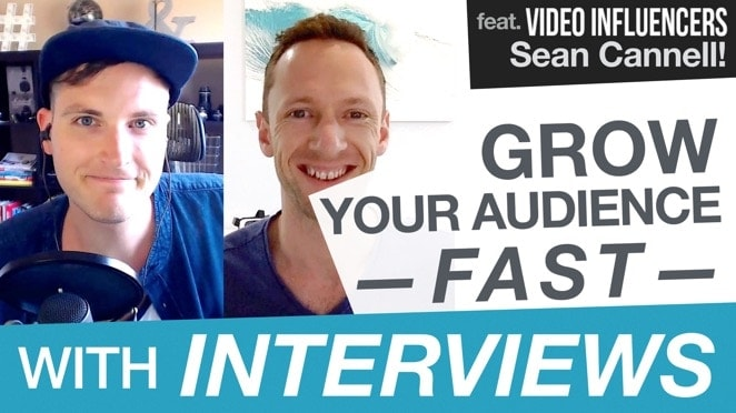 Grow your YouTube Channel FAST with Interviews and Collaborations… feat. Sean Cannell! - Public Relations