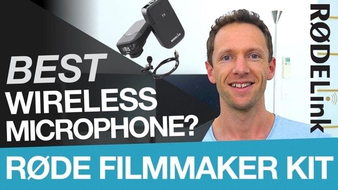 Best Wireless Microphone for Videos: RODE Filmmaker Kit - Public Relations