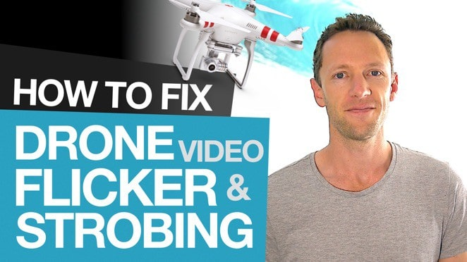 Fix Flickering Drone Footage: How to Remove Drone Blade Flicker and Strobing - Product design