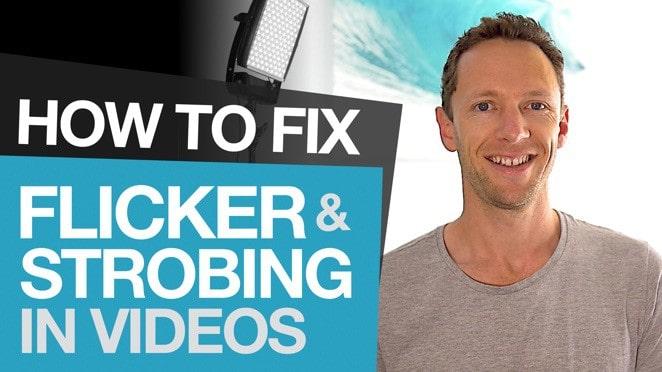 Fix Flickering Video: How to Remove Flickering and Strobing in Videos - Flicker