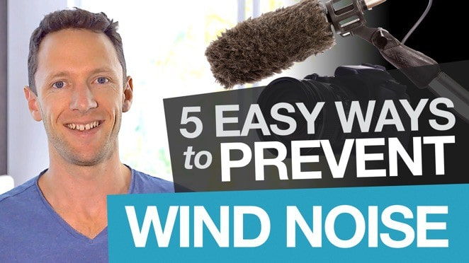 Prevent Wind Noise in Videos: 5 Simple Tips for Shooting in Windy Conditions! - Microphone