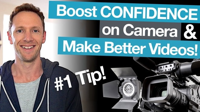 How To Get Comfortable on Camera, Faster! - Microphone