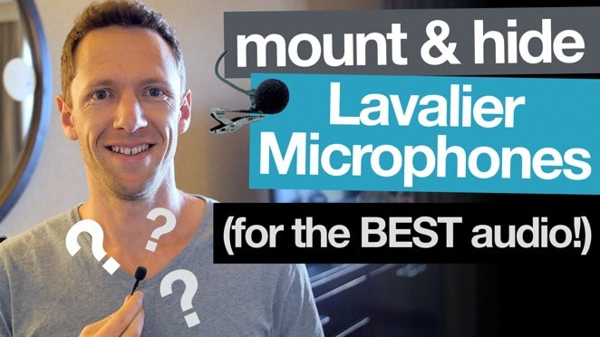 Ultimate Lavalier Microphone Tip: How to Mount (and Hide) for the BEST Audio! - Microphone