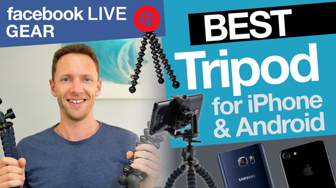 Facebook Live Gear: Best Tripod for iPhone and Android Facebook Live Videos! - Microphone