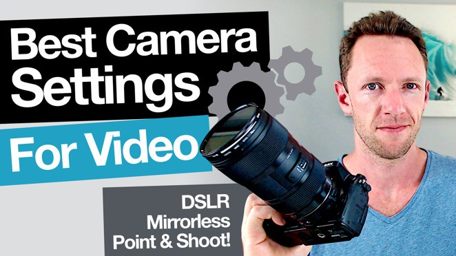 Best Camera and DSLR Video Settings - Microphone