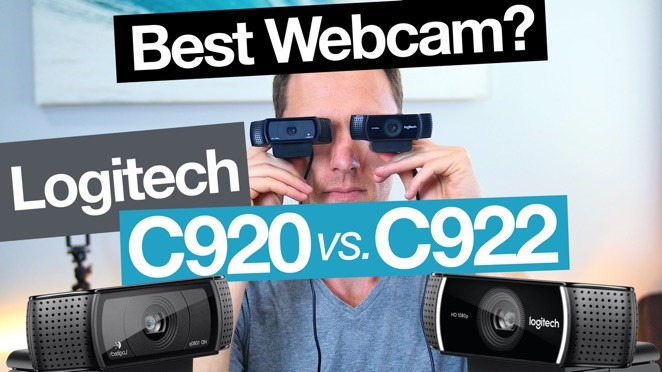 Best Webcam: Logitech C922 vs C920 - Logitech C920 HD Pro