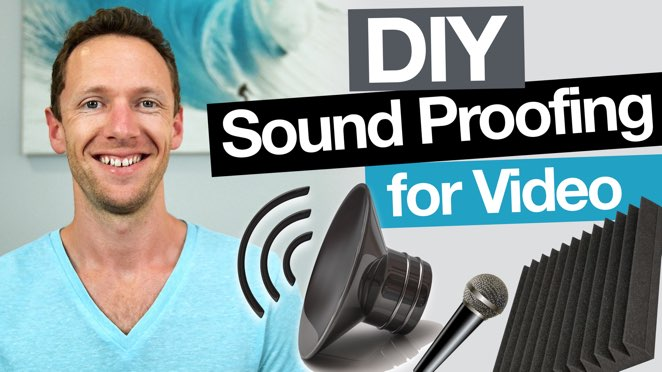 DIY Sound Proofing: Remove Echo and Increase Audio Quality in Videos - Microphone