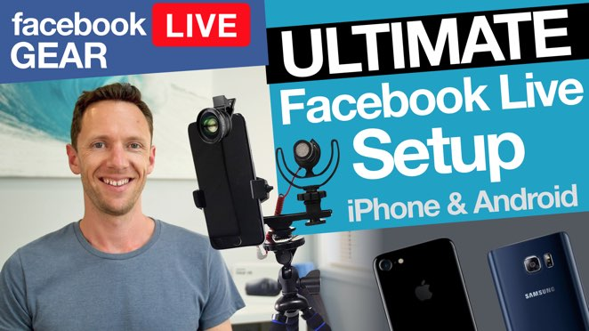 Facebook Live Stream Gear: Ultimate iPhone & Android Facebook Live Setup! - Live streaming