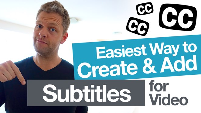 Easily Add Video Subtitles for YouTube! (and create accurate closed caption .SRT files) - Subtitle