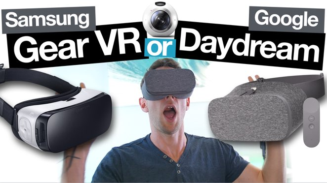 Samsung Gear VR vs Google Daydream View: Best Smartphone VR Headset? - Samsung Gear VR
