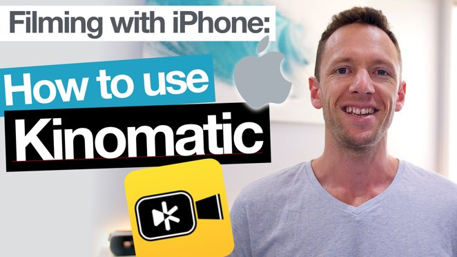 Kinomatic App Tutorial – Filming with iPhone Camera Apps! - Mobile app