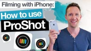 ProShot App Tutorial - Filming with iPhone Camera Apps!