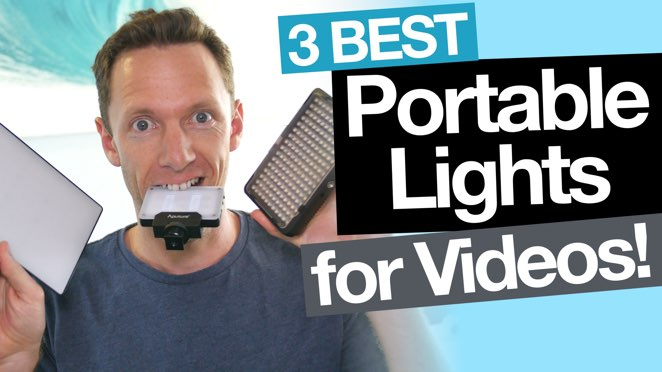 Best Portable Lighting for Video: 3 LED Video Lighting options - Lighting