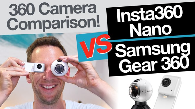Insta360 Nano vs Samsung Gear 360 (Comparison!): Best 360 Camera? - Samsung Gear 360