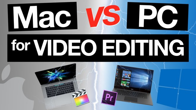 Mac vs PC for Video Editing: Which is best for you?! - Display device