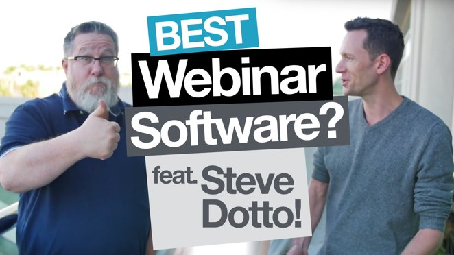 Best Webinar Software for you? Feat. Steve Dotto! - T-shirt