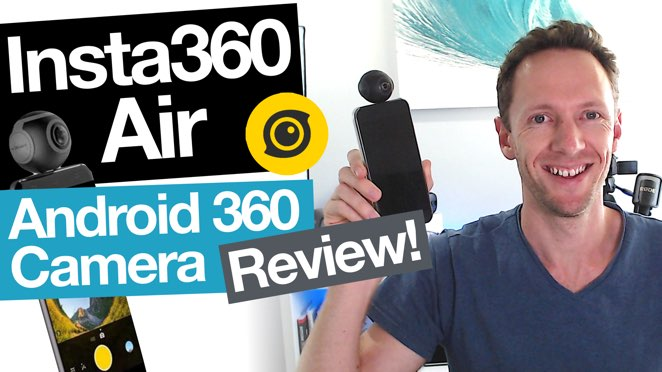 Insta360 Air REVIEW: Best 360 Camera for Android Smartphones? - Insta360 Air 3D Camera USB Type C Accessories