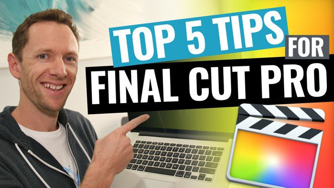 5 Final Cut Pro Editing Tips to Edit Videos FASTER! - Laptop