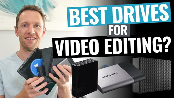 Best External Hard Drives and SSDs for Video Editing - Hard disk drive