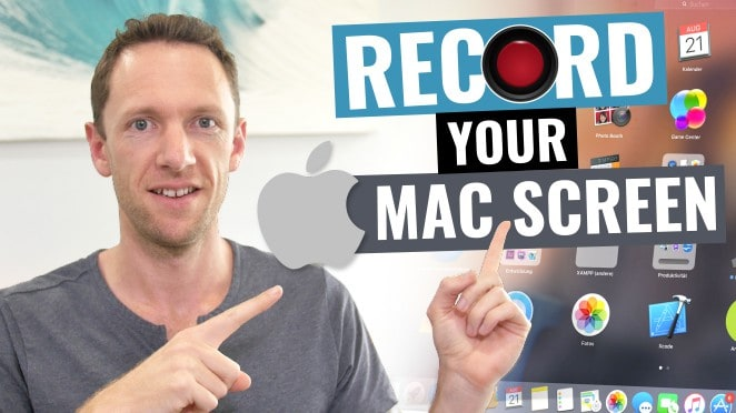 How to Record Your Screen on Mac! (Screen Capture Mac Tutorial) - Screencast