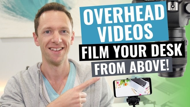 Overhead Video Recording: How to Shoot Top Down Video - Microphone