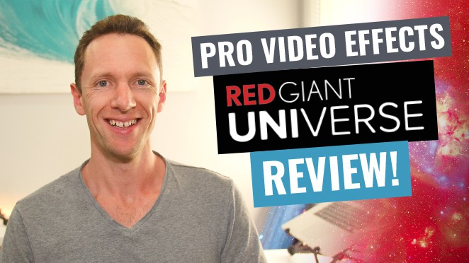 Best Tool for Adding Video Effects? Red Giant Universe Review! - T-shirt