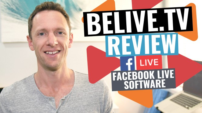 BeLive.TV Review: Best Facebook Live Streaming Software? - T-shirt
