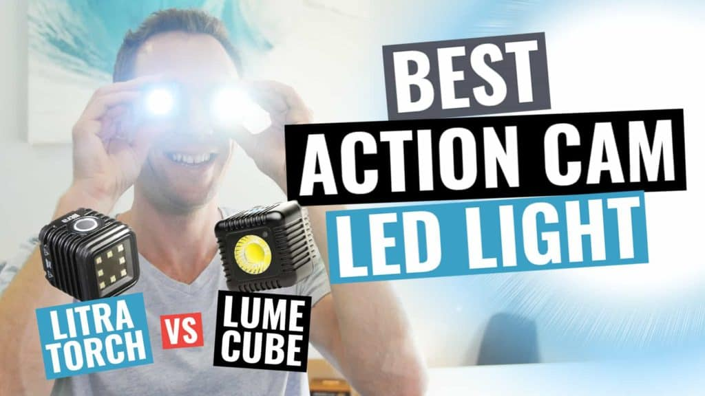 Best Portable Action Camera Video Light? Litra Torch vs Lume Cube Review! - Lume Cube