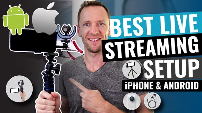 Best Live Streaming Setup for Smartphones (iPhone & Android!)