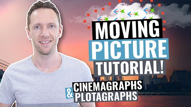 How to Make Moving Pictures on Your Phone! (Plotagraph & Cinemagraph Tutorial)