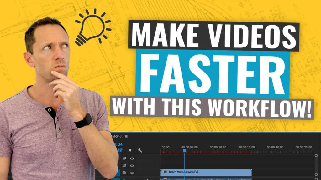 Our Video Creation Workflow (How to Make YouTube Videos FASTER!)