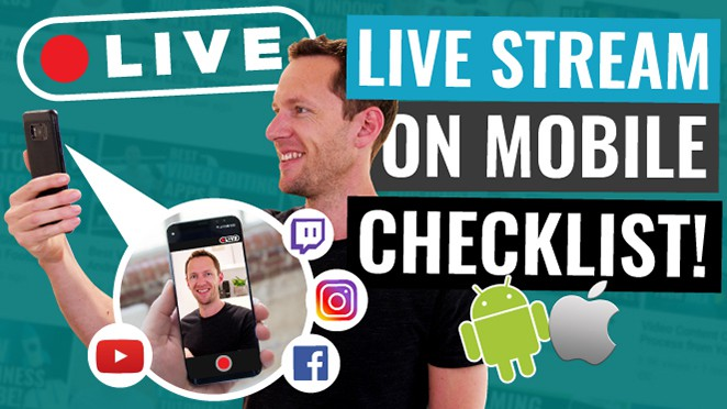 How to live stream on mobile