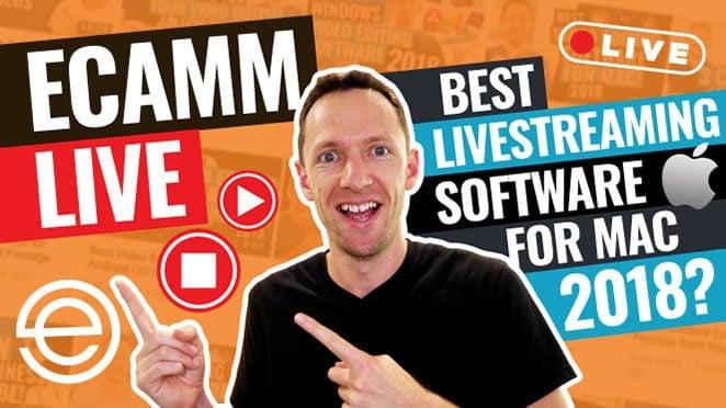 Ecamm Live Best Livestreaming Software for Mac