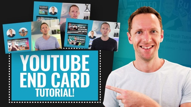 How to Make a YouTube End Card Template