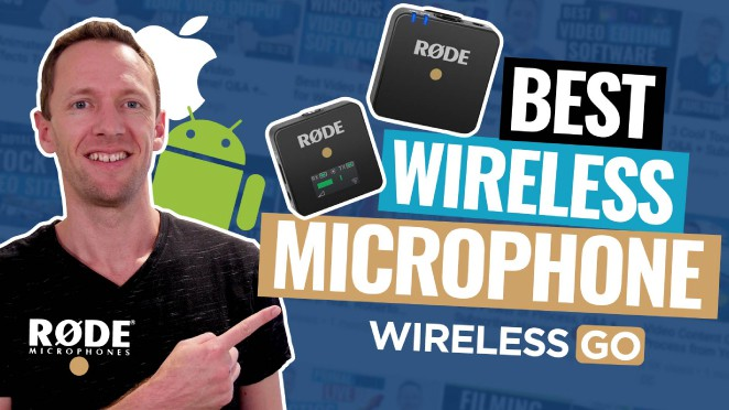 Best Wireless Microphone (for iPhone, Android, DSLR and other Cameras!)