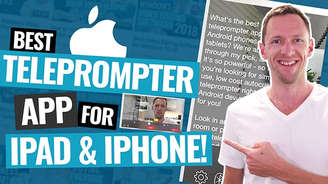 Best Teleprompter App for iPad and iPhone (Updated!)
