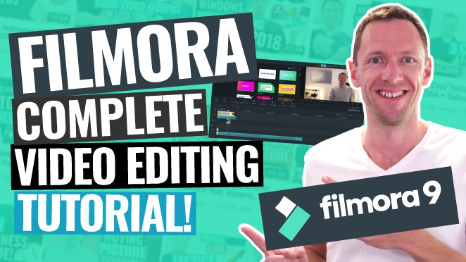 Wondershare Filmora - QUICK START Video Editing Tutorial!