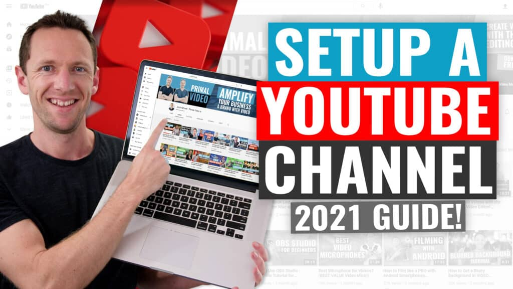 How To Create A YouTube Channel! (2021 UPDATED Beginner's Guide)