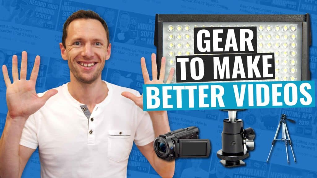 10 Things to Buy to MAKE BETTER VIDEOS, Faster!