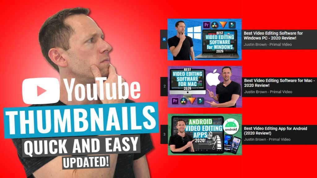 How to Make a YouTube Thumbnail - Quick and Easy (UPDATED!)