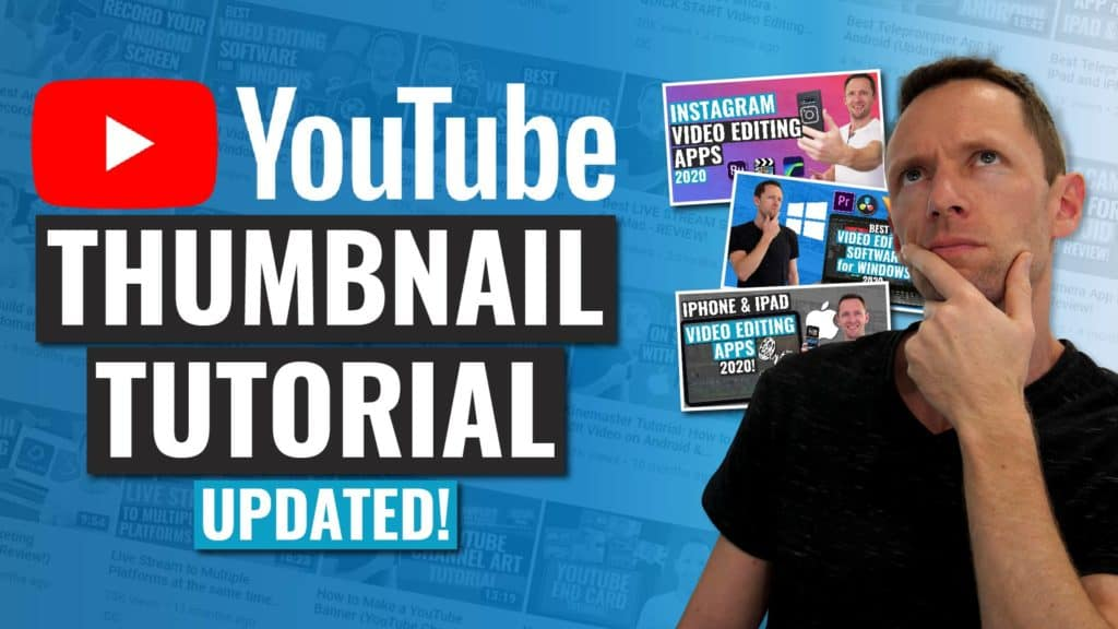 how to make a youtube thumbnail quick and easy