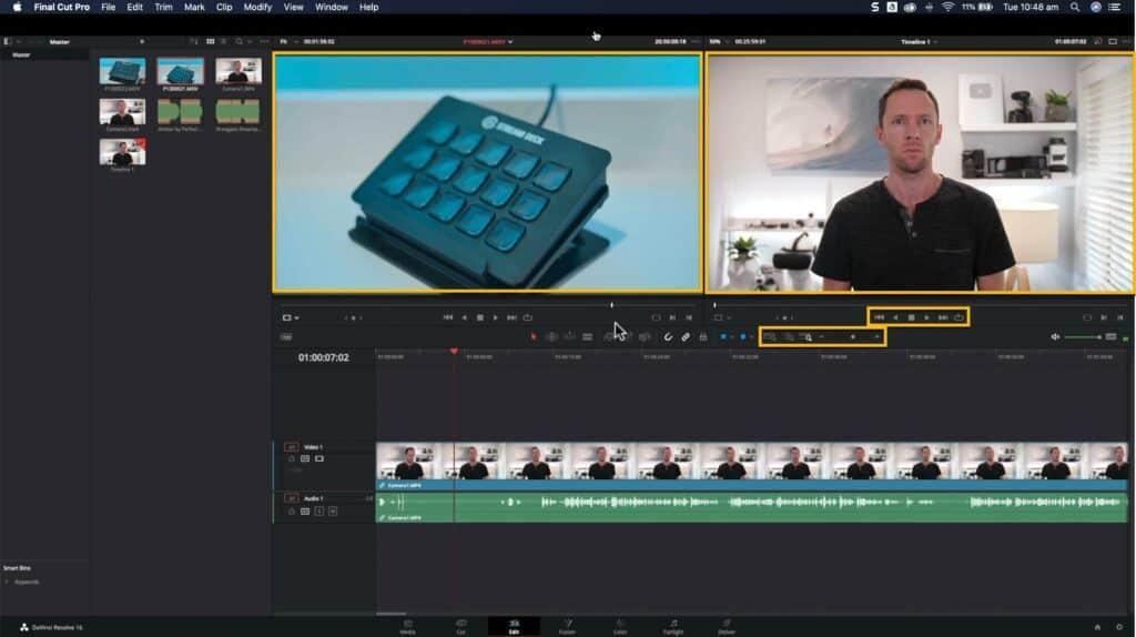 Editing Tools DaVinci Resolve